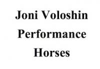 Joni Voloshin Performance Horses